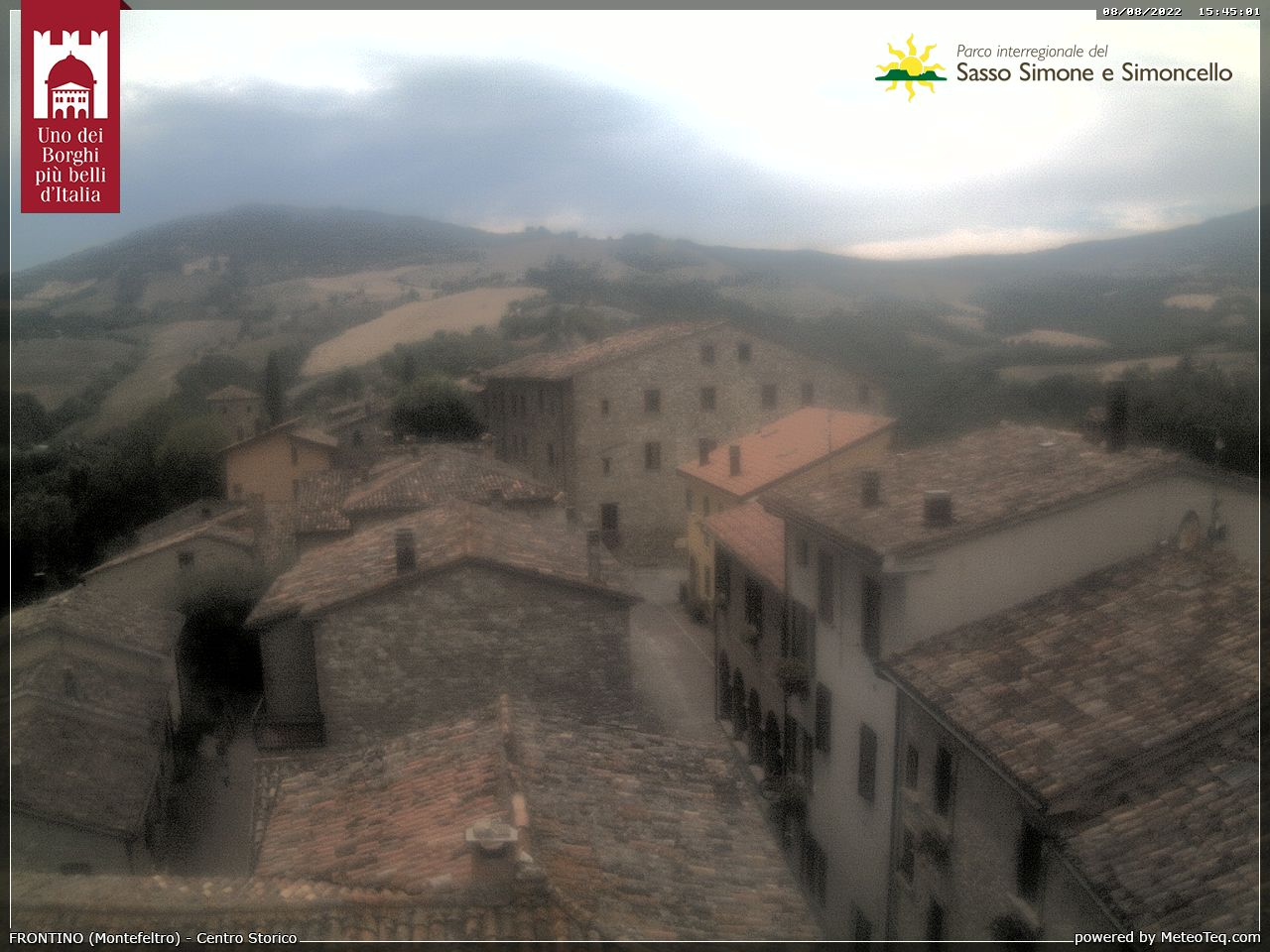 Webcam Frontino - PU Live webcamera